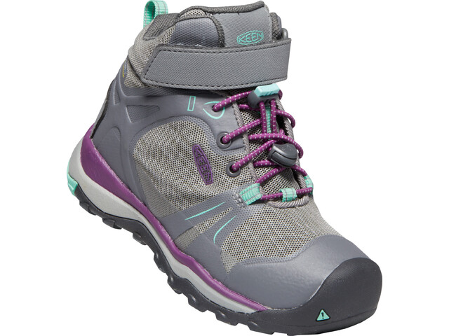 Keen Terradora II Mid WP Schuhe Kinder steel grey/beveled glass